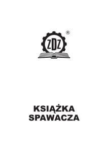 Okładka Książki spawacza stare logo